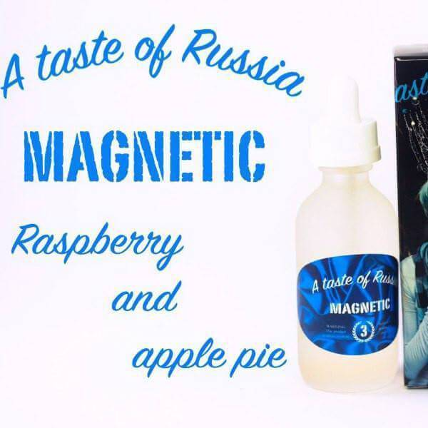 Magnetic by A Taste of Russia eJuice - Cheap Vape Juice - East Coast Vape Distribution