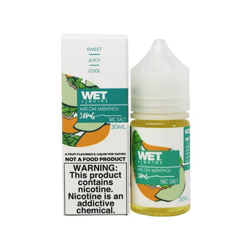 Melon Menthol Nicotine Salt by Wet Liquids E-Juice - Cheap Vape Juice - East Coast Vape Distribution