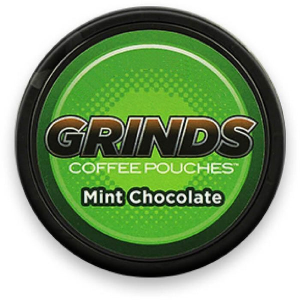 Mint Chocolate by Grinds Coffee Pouches - Cheap Vape Juice - East Coast Vape Distribution