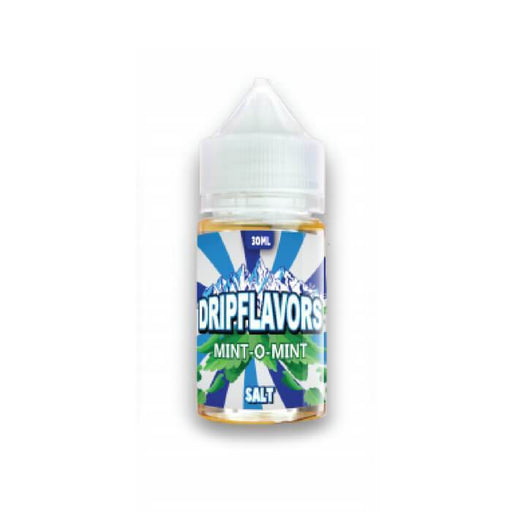 Mint O Mint Nicotine Salt by DripFlavors Salt eJuice - Cheap Vape Juice - East Coast Vape Distribution