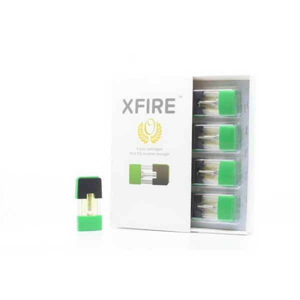 Mint Pod For XFire Vape Pen by XFire Vapor - Cheap Vape Juice - East Coast Vape Distribution