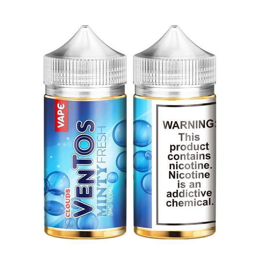 Minty Fresh by Ventos Cloud Vape E-Liquid - Cheap Vape Juice - East Coast Vape Distribution