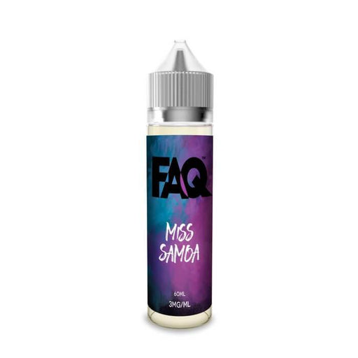 Miss Samoa by FAQ Vapes - Cheap Vape Juice - East Coast Vape Distribution