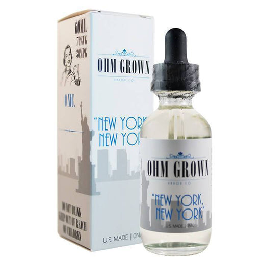 New York New York by Ohm Grown Vapor Co. - Cheap Vape Juice - East Coast Vape Distribution