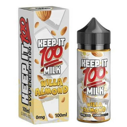 Nilla Almond by Keep It 100 eJuice