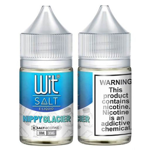 Nippy Glacier by Wit Nicotine Salt E-Liquid - Cheap Vape Juice - East Coast Vape Distribution