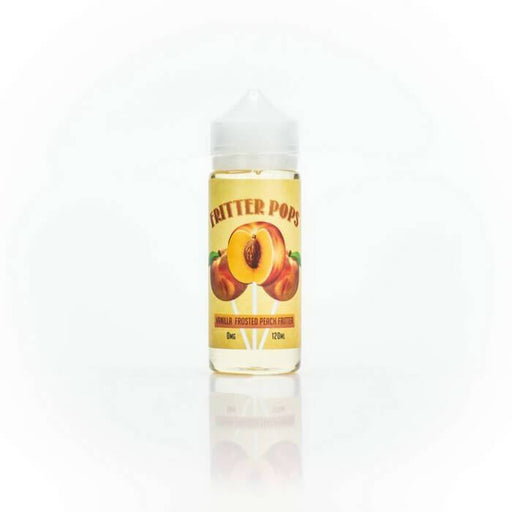 Peach Fritter by Fritter Pops eJuice - Cheap Vape Juice - East Coast Vape Distribution