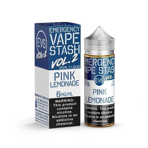 Pink Lemonade by Emergency Vape Stash E-Liquid - Cheap Vape Juice - East Coast Vape Distribution
