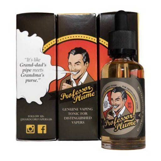 Professor Plume E-Liquid - Cheap Vape Juice - East Coast Vape Distribution