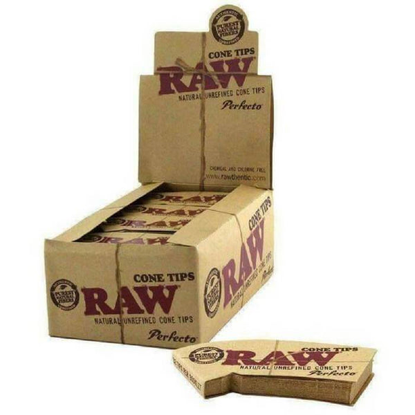 Raw Rolling Papers Cone Tips - Cheap Vape Juice - East Coast Vape Distribution