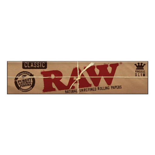 Raw Rolling Papers King Size Slim Classic - Cheap Vape Juice - East Coast Vape Distribution