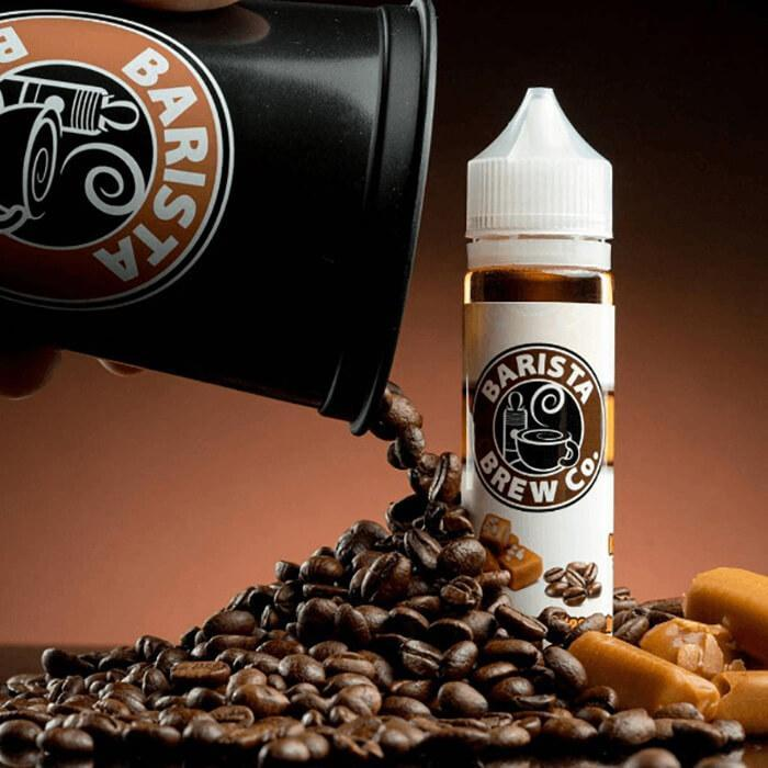 Salted Caramel Macchiato by Barista Brew Co. eJuice - Cheap Vape Juice - East Coast Vape Distribution