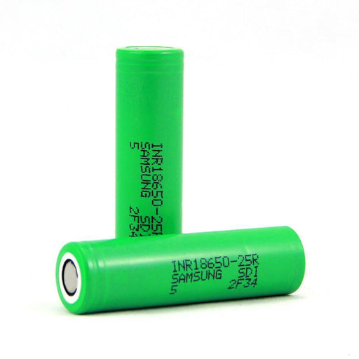 Samsung 25R INR 18650 2500mah Battery (2-Pack) - Cheap Vape Juice - East Coast Vape Distribution