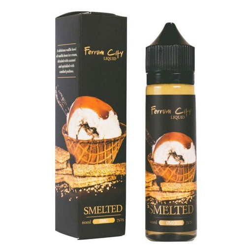 Smelted by Ferrum City Liquid - Cheap Vape Juice - East Coast Vape Distribution