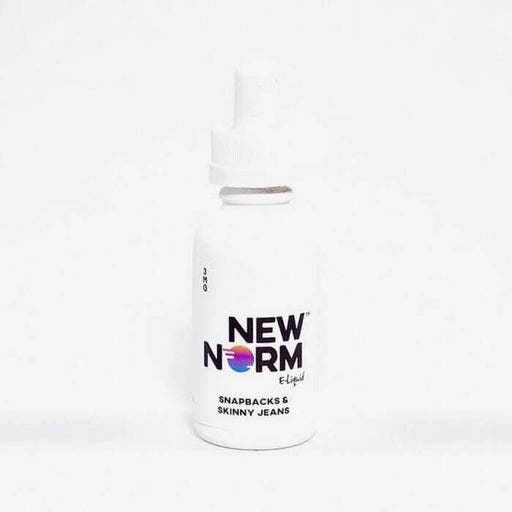 Snapbacks & Skinny Jeans by New Norm E-Liquid - Cheap Vape Juice - East Coast Vape Distribution