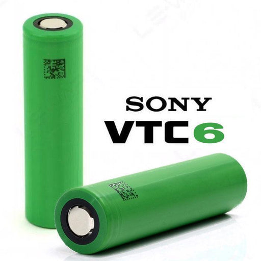 Sony VTC6 18650 3000mAh 30A Batteries (2-Pack) - Cheap Vape Juice - East Coast Vape Distribution