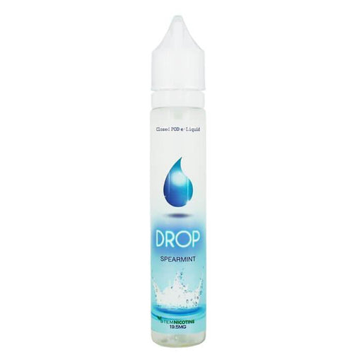 Spearmint by Drop Salt Nicotine E-Liquid - Cheap Vape Juice - East Coast Vape Distribution