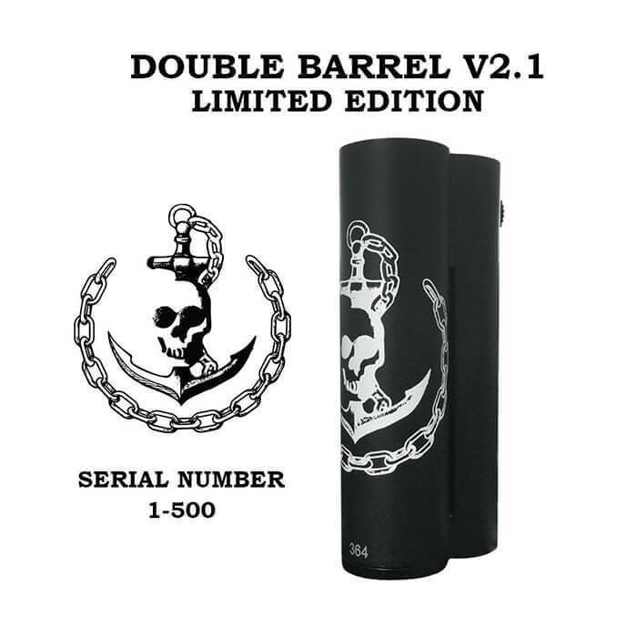Squid Industries Double Barrel V2.1 150W Mod - ECVD