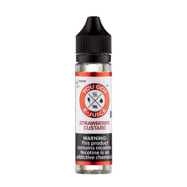 Strawberry Custard by You Got E-Juice - Cheap Vape Juice - East Coast Vape Distribution