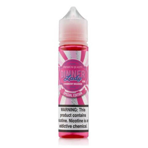 Strawberry Macaroon by Vape Dinner Lady E-Liquid - Cheap Vape Juice - East Coast Vape Distribution