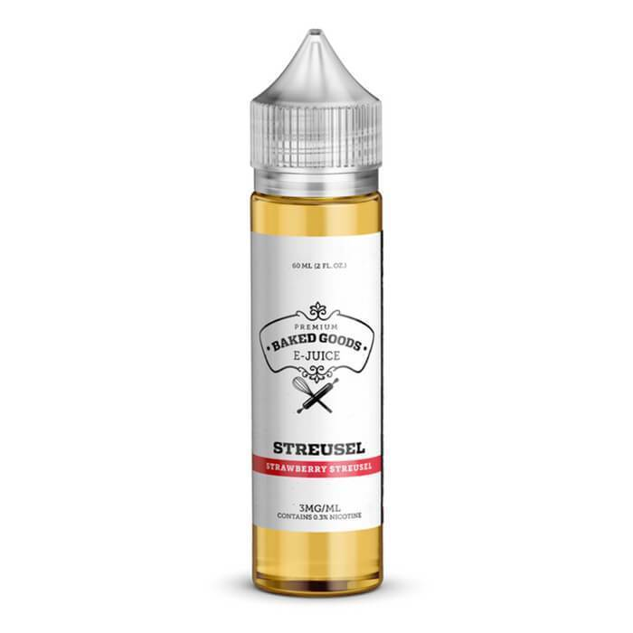 Streusel by Baked Goods Premium E-Liquid - Cheap Vape Juice - East Coast Vape Distribution