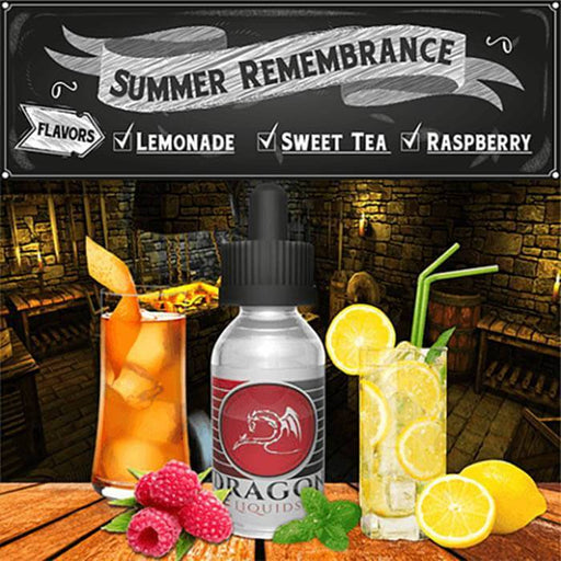 Summer Remembrance by Dragon Kosher Liquids - Cheap Vape Juice - East Coast Vape Distribution