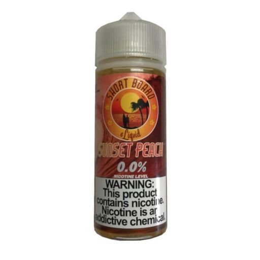 Sunset Peach by Short Board E-Liquid - Cheap Vape Juice - East Coast Vape Distribution