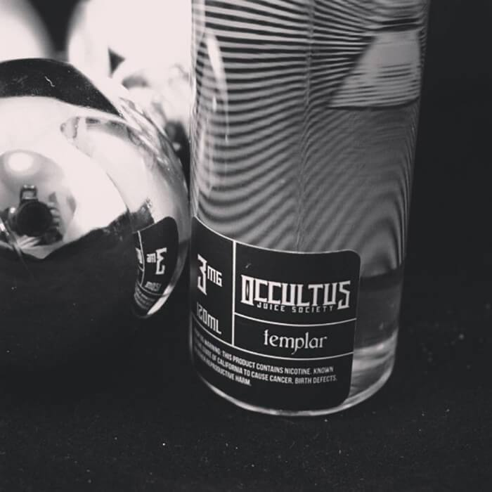 Templar by Occultus Juice Society eJuice - Cheap Vape Juice - East Coast Vape Distribution