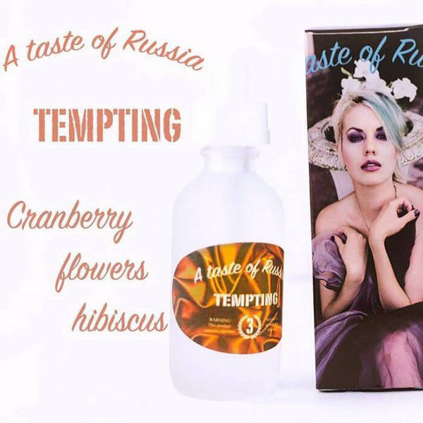 Tempting by A Taste of Russia eJuice - Cheap Vape Juice - East Coast Vape Distribution