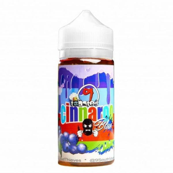 Toasted Cinnaroo Blue by 9 South Vapes E-Liquid - Cheap Vape Juice - East Coast Vape Distribution
