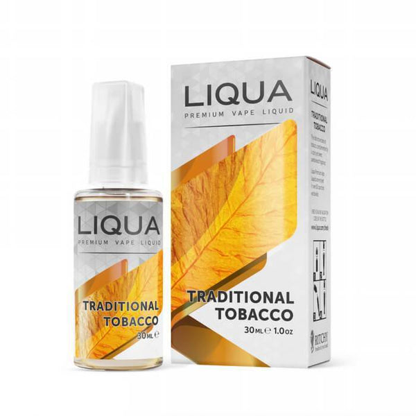 Traditional Tobacco by Liqua Elements E-Liquid - Cheap Vape Juice - East Coast Vape Distribution