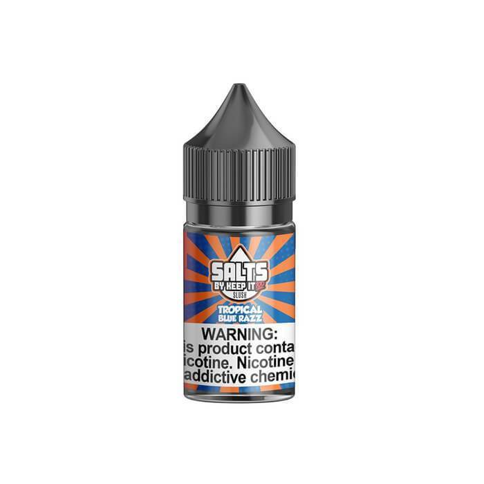 Tropical Blue Razz Nicotine Salt by Keep It 100 eJuice - Cheap Vape Juice - East Coast Vape Distribution