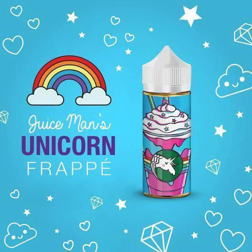 Unicorn Frappe by Juice Man USA eJuice - Cheap Vape Juice - East Coast Vape Distribution