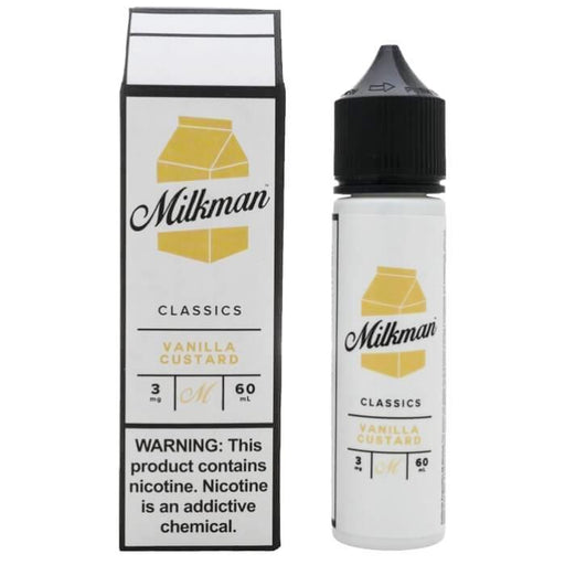Vanilla Custard by The Milkman eJuice - Cheap Vape Juice - East Coast Vape Distribution