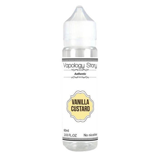 Vanilla Custard by Vapology Story eJuice - Cheap Vape Juice - East Coast Vape Distribution