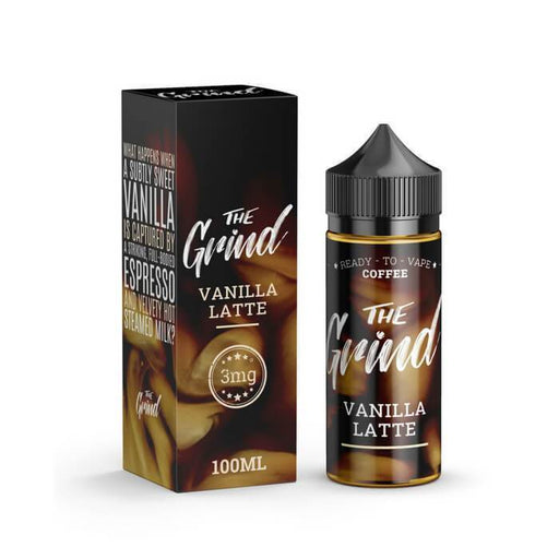 Vanilla Latte by The Grind E-Liquid - Cheap Vape Juice - East Coast Vape Distribution
