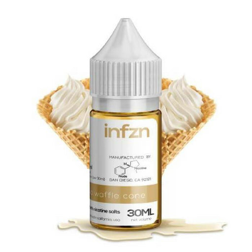 Vanilla Waffle Cone by INFZN Nicotine Salt E-Liquid - Cheap Vape Juice - East Coast Vape Distribution
