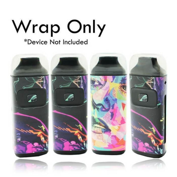 VCG Aspire Breeze Wraps: Water Color - Cheap Vape Juice - East Coast Vape Distribution