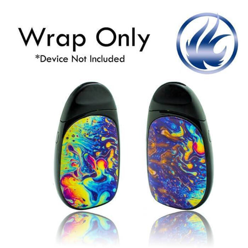 VCG Aspire Cobble Wraps: Oil Slick - Cheap Vape Juice - East Coast Vape Distribution