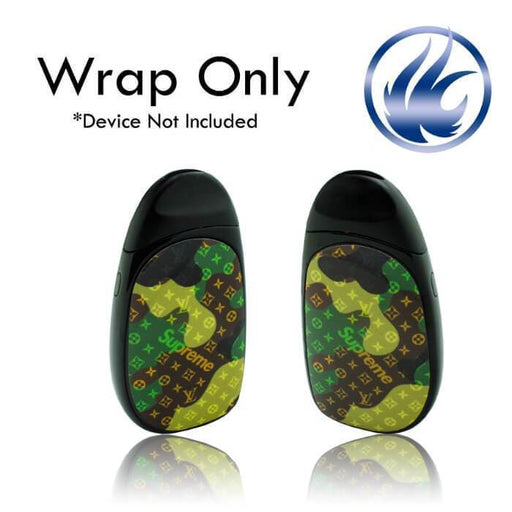 VCG Aspire Cobble Wraps: Supreme Camo - Cheap Vape Juice - East Coast Vape Distribution