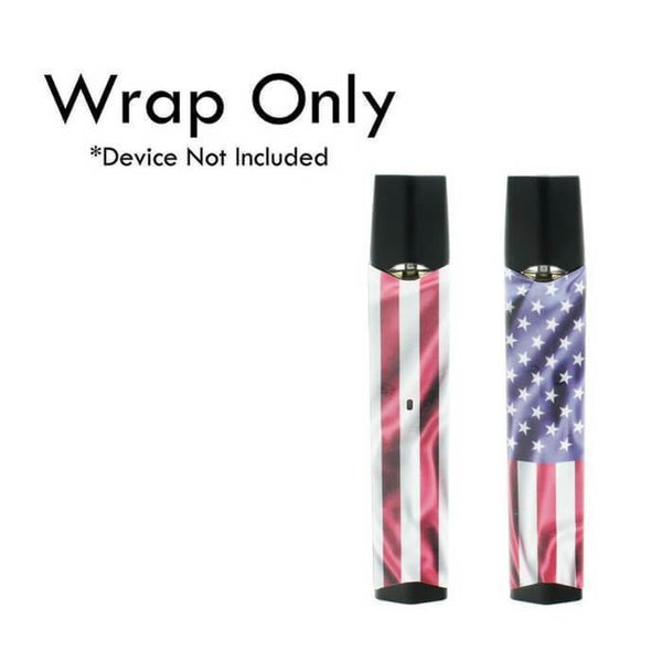 VCG Infinix Wraps: American Flag - Cheap Vape Juice - East Coast Vape Distribution
