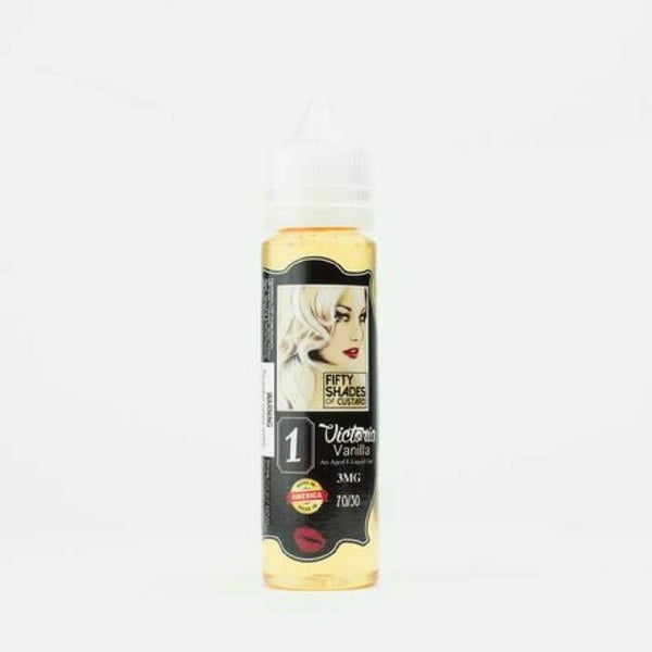 Victoria Vanilla by 50 Shades of Custard E-Juice - Cheap Vape Juice - East Coast Vape Distribution