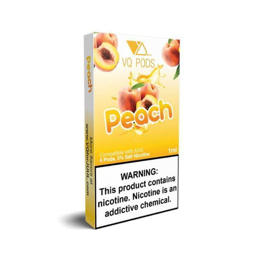 VQ Pods Peach - Cheap Vape Juice - East Coast Vape Distribution