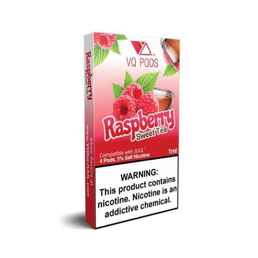 VQ Pods Raspberry Sweet Tea - Cheap Vape Juice - East Coast Vape Distribution