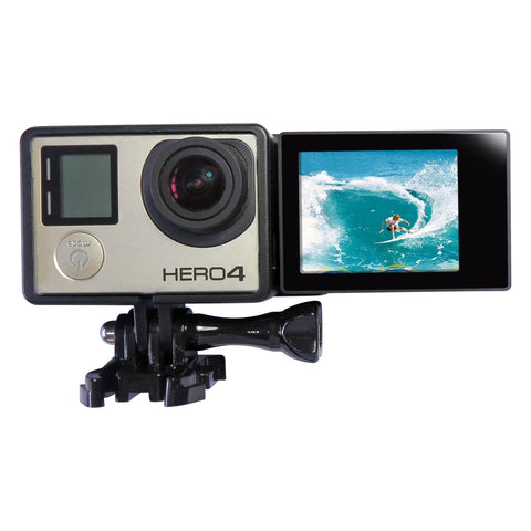 2-in-1 Selfie-sett (LCD Adapter) for GoPro Hero 3+/4
