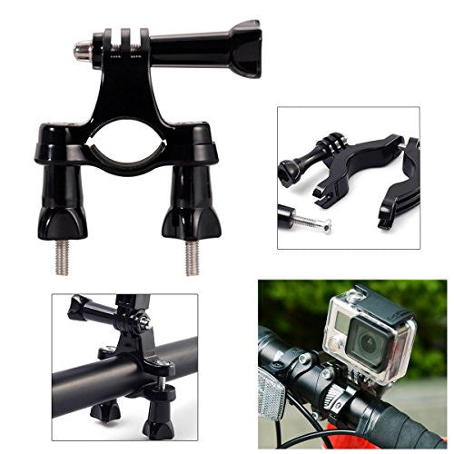 Bike mount / 3-veis sykkelfeste for GoPro Hero 2 3 4 5, 6, 7, 8 og Session