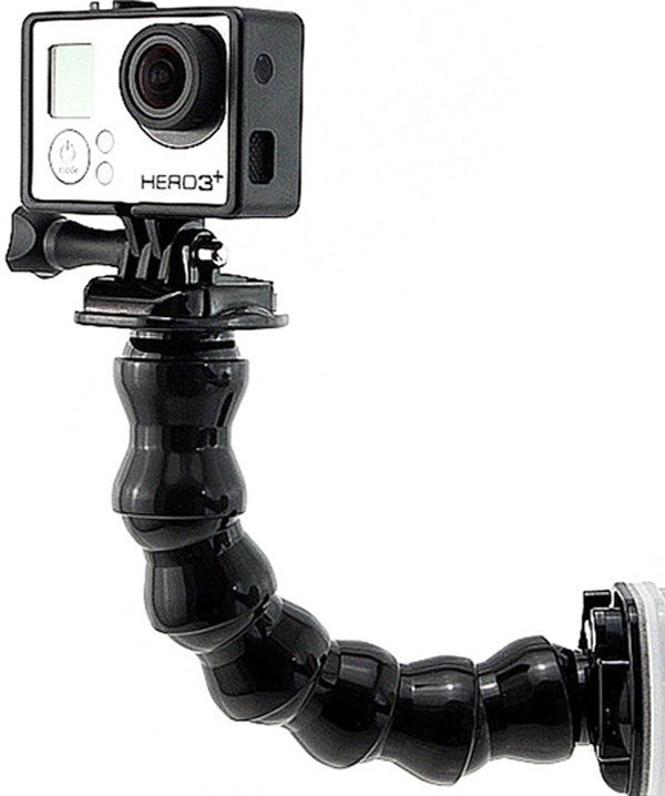 Flex mount / gooseneck for GoPro, alle typer