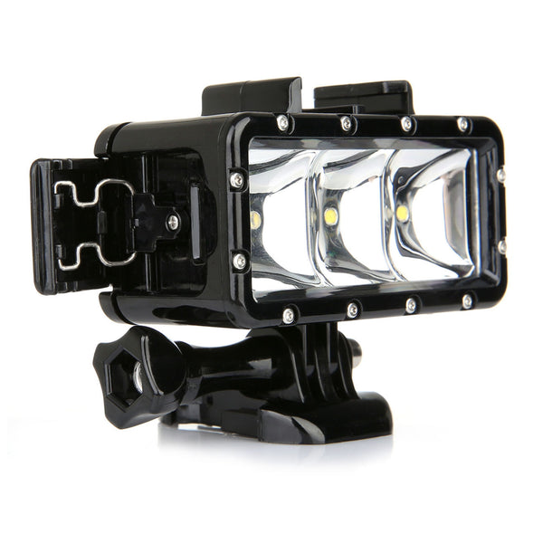 LED-dykklys / diving light for Gopro actionkamera