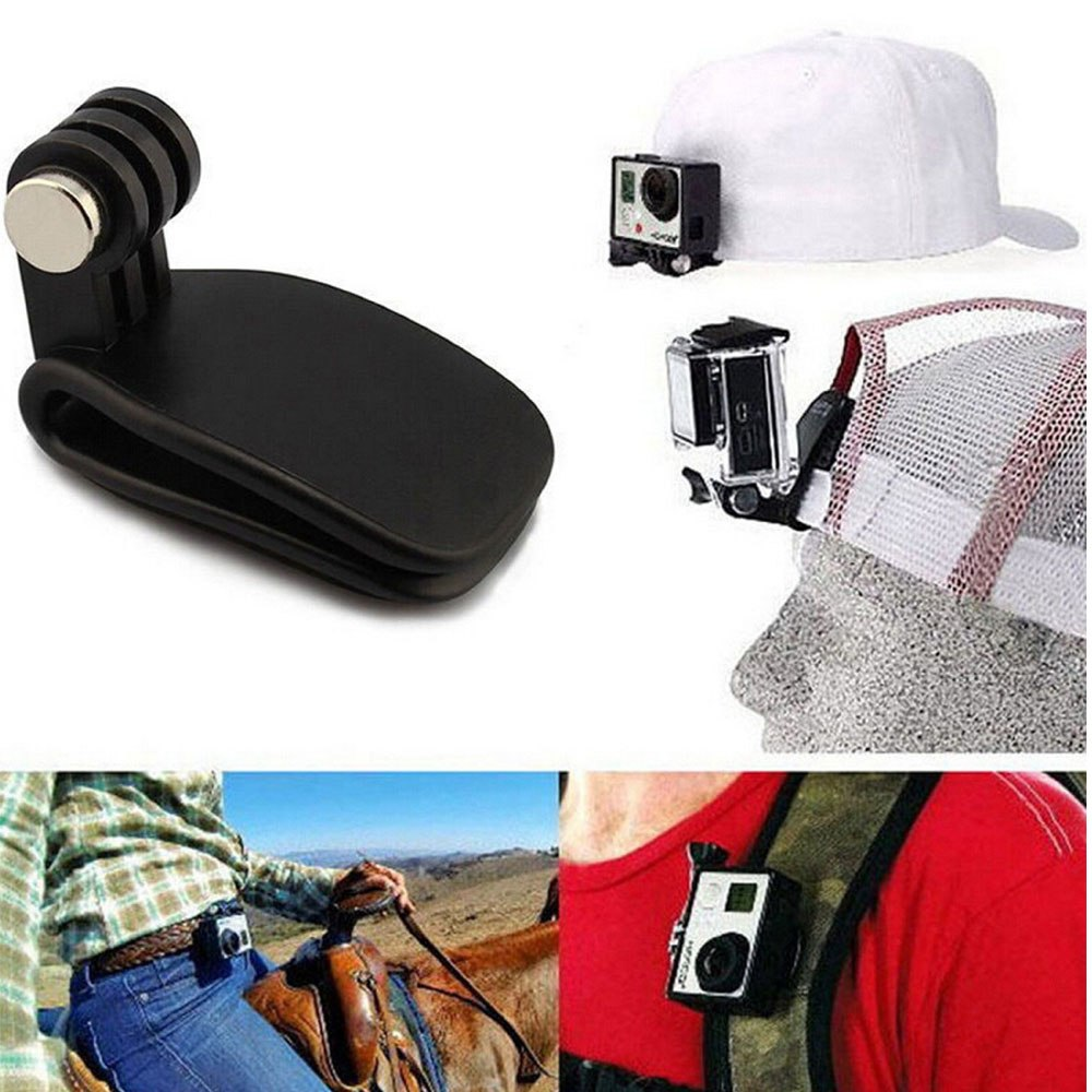 Mini Action Camera Hat Clip Mount