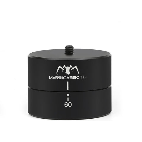 60 Munites 360 Degree Panning Rotating Time Lapse Stabilizer Tripod Head Adapter for Gopro Hero